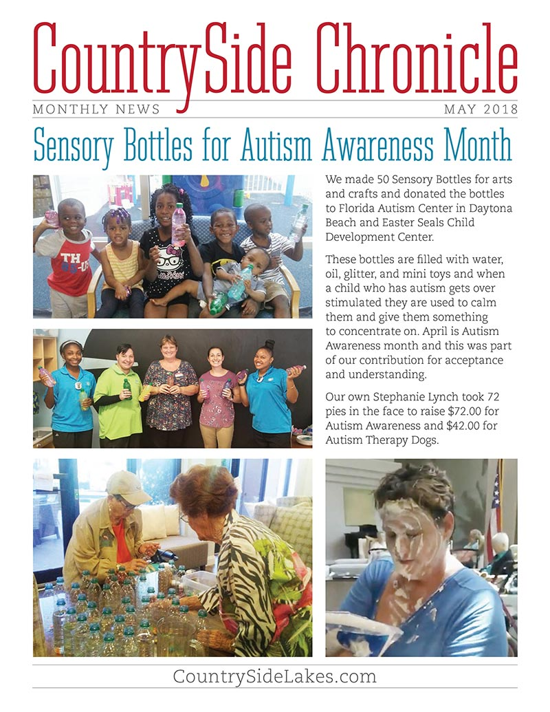 Port Orange Senior Activities May 2018