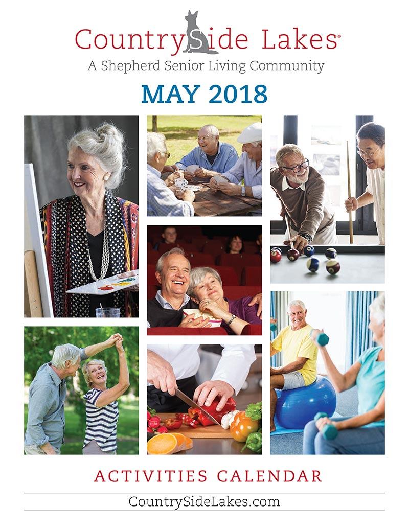 Port Orange Senior Living Activities Calendar May 2018